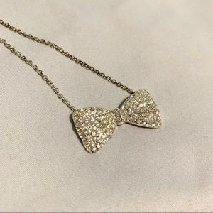 Jewelry - Diamond Bow Necklace